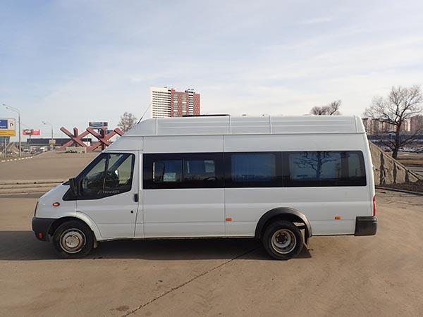 Аренда микроавтобуса с водителем в Яхроме