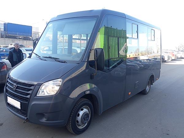 Аренда микроавтобуса с водителем в Раменское